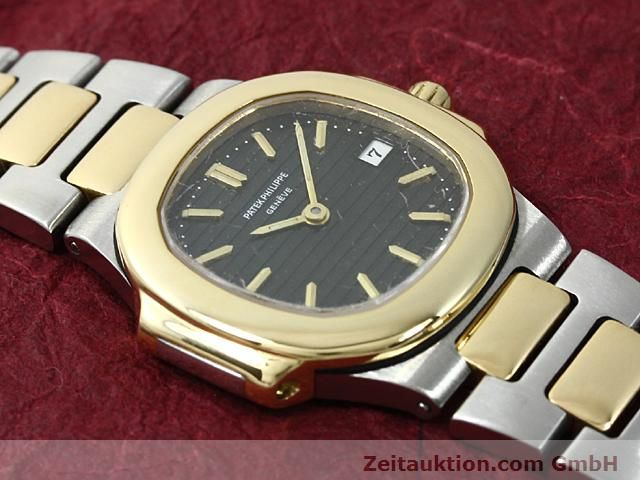 Used luxury watch Patek Philippe Nautilus steel / gold quartz  | 140470 12