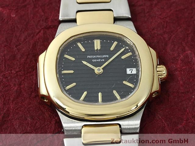 Used luxury watch Patek Philippe Nautilus steel / gold quartz  | 140470 13