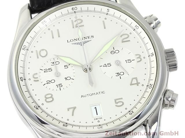 Used luxury watch Longines Master Collection steel automatic Kal. L651.3 ETA 2894-2 Ref. L2.620.4  | 140471 02