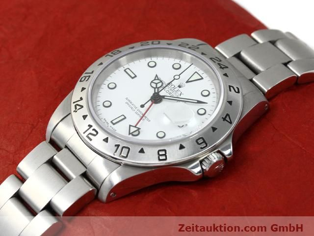 Used luxury watch Rolex Explorer steel automatic Kal. 3185 Ref. 16570  | 140477 01