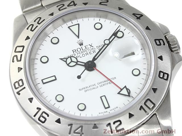 Used luxury watch Rolex Explorer steel automatic Kal. 3185 Ref. 16570  | 140477 02