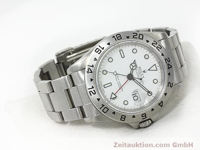 Used luxury watch Rolex Explorer steel automatic Kal. 3185 Ref. 16570  | 140477 03