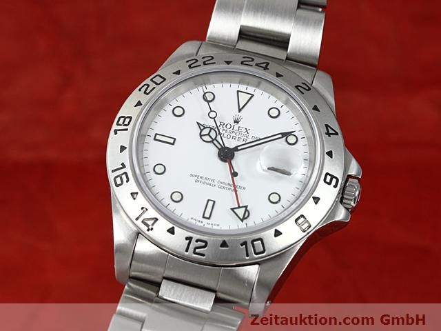 Used luxury watch Rolex Explorer steel automatic Kal. 3185 Ref. 16570  | 140477 04