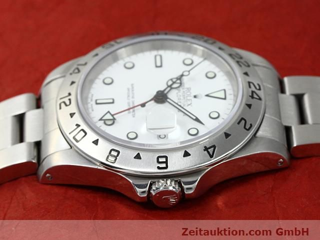 Used luxury watch Rolex Explorer steel automatic Kal. 3185 Ref. 16570  | 140477 05