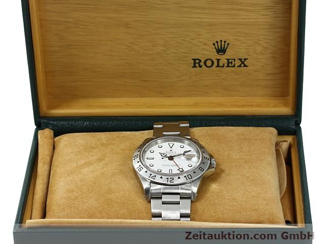 Used luxury watch Rolex Explorer steel automatic Kal. 3185 Ref. 16570  | 140477 07