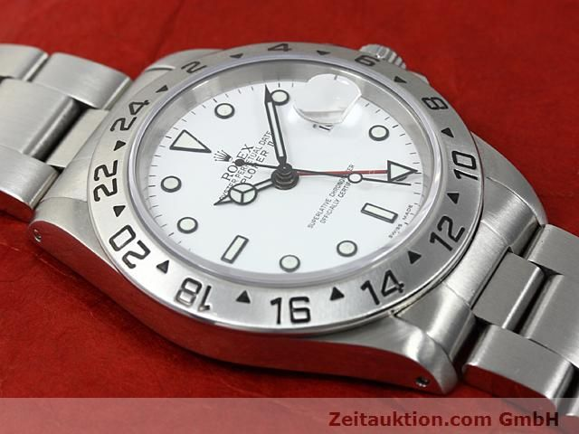 Used luxury watch Rolex Explorer steel automatic Kal. 3185 Ref. 16570  | 140477 13