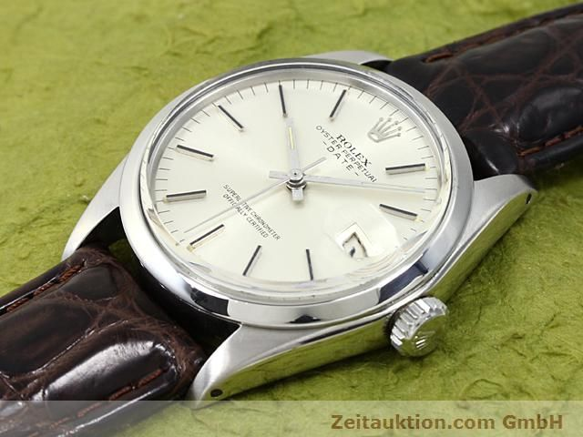 Used luxury watch Rolex Date steel automatic Kal. 1570 Ref. 1500  | 140480 01