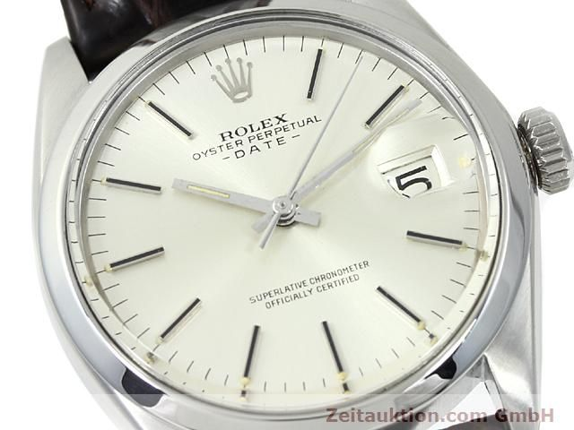 Used luxury watch Rolex Date steel automatic Kal. 1570 Ref. 1500  | 140480 02