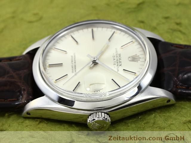 Used luxury watch Rolex Date steel automatic Kal. 1570 Ref. 1500  | 140480 05