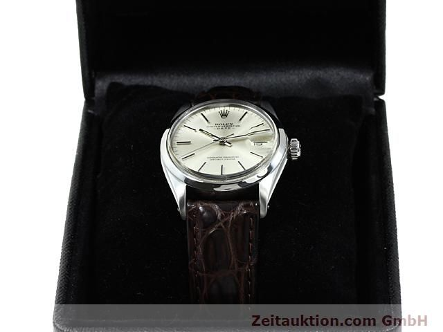 Used luxury watch Rolex Date steel automatic Kal. 1570 Ref. 1500  | 140480 07