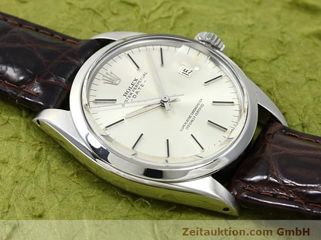 Used luxury watch Rolex Date steel automatic Kal. 1570 Ref. 1500  | 140480 13