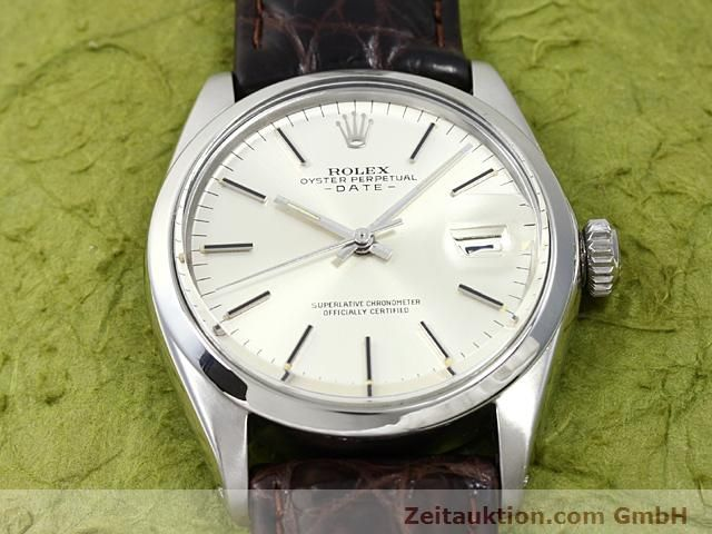 Used luxury watch Rolex Date steel automatic Kal. 1570 Ref. 1500  | 140480 14