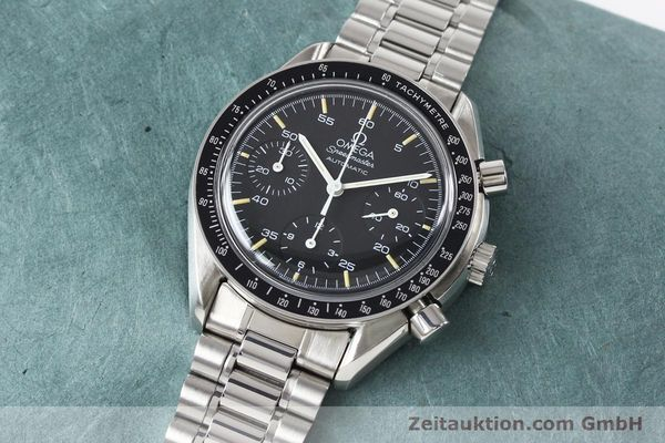 Used luxury watch Omega Speedmaster steel automatic Kal. 1140 ETA 2890-2  | 140483 01