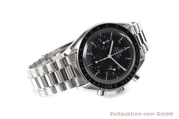 Used luxury watch Omega Speedmaster steel automatic Kal. 1140 ETA 2890-2  | 140483 03