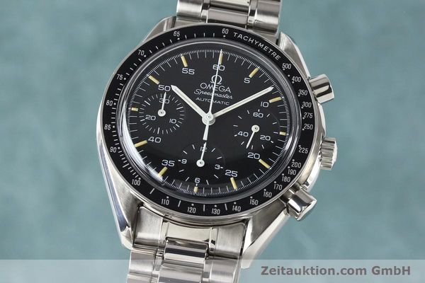 Used luxury watch Omega Speedmaster steel automatic Kal. 1140 ETA 2890-2  | 140483 04