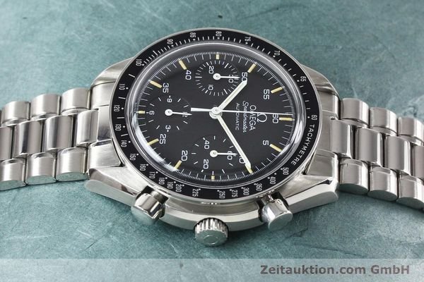 Used luxury watch Omega Speedmaster steel automatic Kal. 1140 ETA 2890-2  | 140483 05