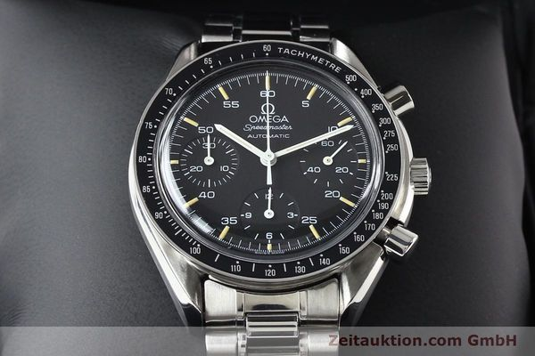 Used luxury watch Omega Speedmaster steel automatic Kal. 1140 ETA 2890-2  | 140483 07