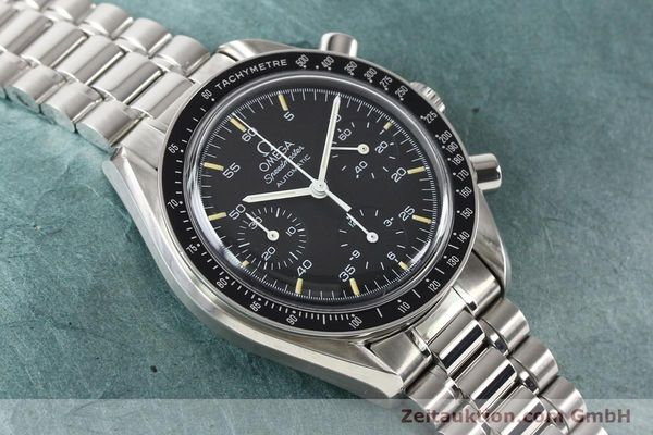 Used luxury watch Omega Speedmaster steel automatic Kal. 1140 ETA 2890-2  | 140483 15