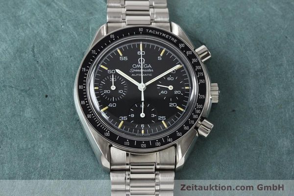 Used luxury watch Omega Speedmaster steel automatic Kal. 1140 ETA 2890-2  | 140483 16