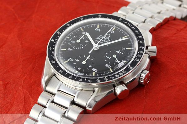 Used luxury watch Omega Speedmaster steel automatic Kal. 1143 ETA 2890A2  | 140485 01
