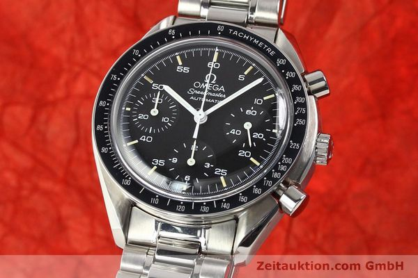 Used luxury watch Omega Speedmaster steel automatic Kal. 1143 ETA 2890A2  | 140485 04