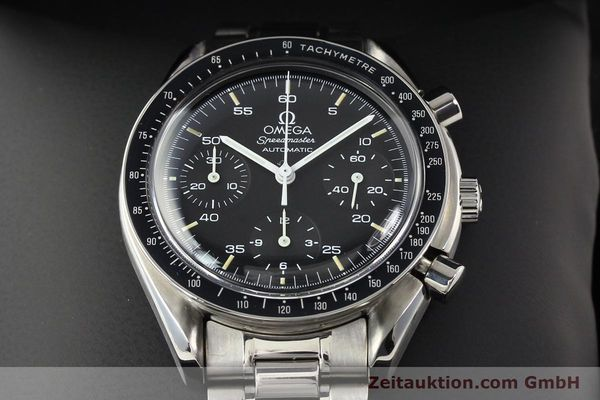 Used luxury watch Omega Speedmaster steel automatic Kal. 1143 ETA 2890A2  | 140485 07