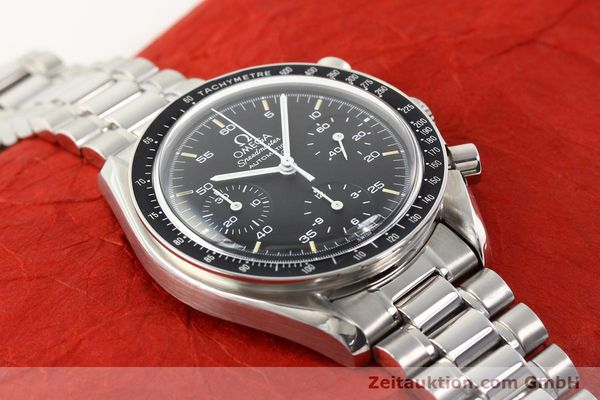 Used luxury watch Omega Speedmaster steel automatic Kal. 1143 ETA 2890A2  | 140485 14