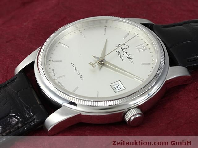 Used luxury watch Glashütte Senator steel automatic Kal. 39  | 140490 01