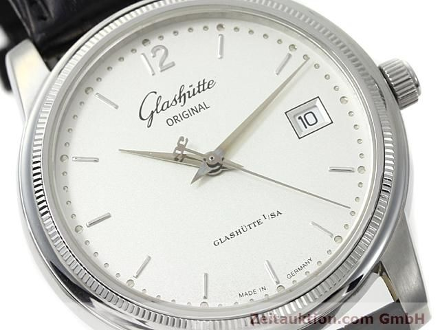 Used luxury watch Glashütte Senator steel automatic Kal. 39  | 140490 02