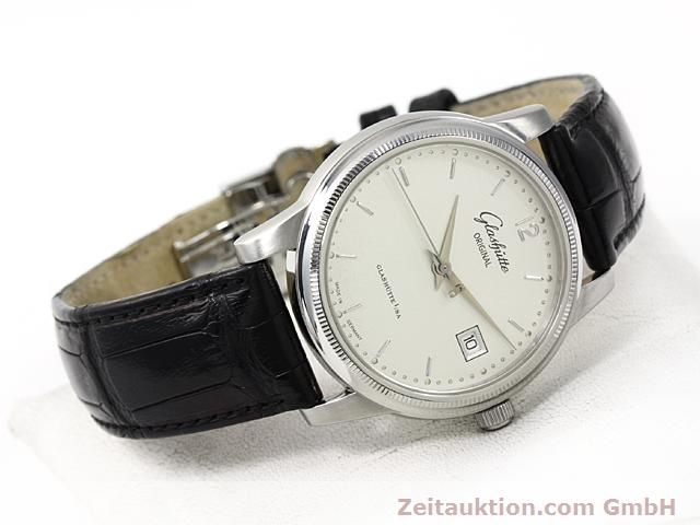 Used luxury watch Glashütte Senator steel automatic Kal. 39  | 140490 03