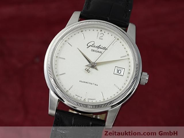 Used luxury watch Glashütte Senator steel automatic Kal. 39  | 140490 04
