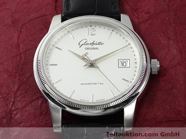 Used luxury watch Glashütte Senator steel automatic Kal. 39  | 140490 14