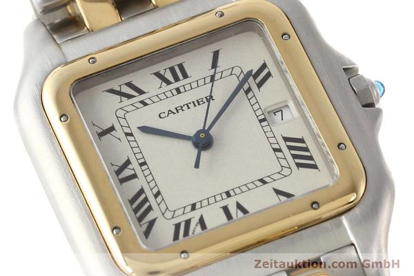 montre de luxe d occasion Cartier Panthere acier / or  quartz  | 140493 02
