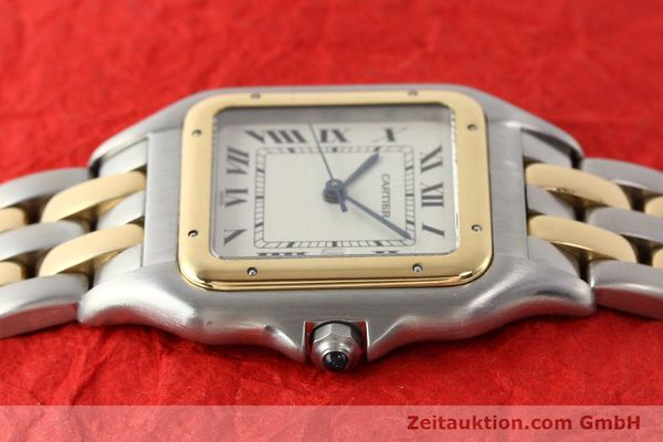 Used luxury watch Cartier Panthere steel / gold quartz  | 140493 05