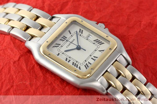 Used luxury watch Cartier Panthere steel / gold quartz  | 140493 13