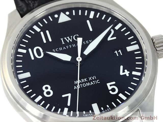 Used luxury watch IWC Mark XVI steel automatic Kal. C.30110 Ref. 3255  | 140496 02