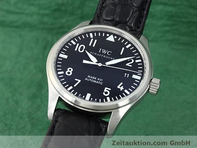Used luxury watch IWC Mark XVI steel automatic Kal. C.30110 Ref. 3255  | 140496 04