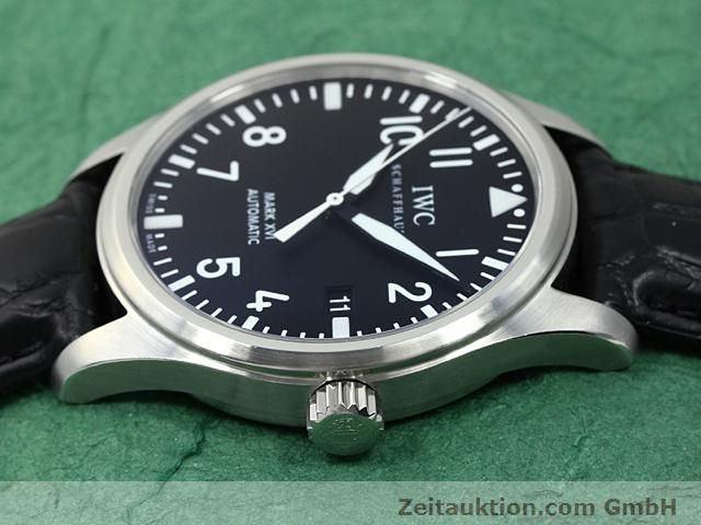 Used luxury watch IWC Mark XVI steel automatic Kal. C.30110 Ref. 3255  | 140496 05