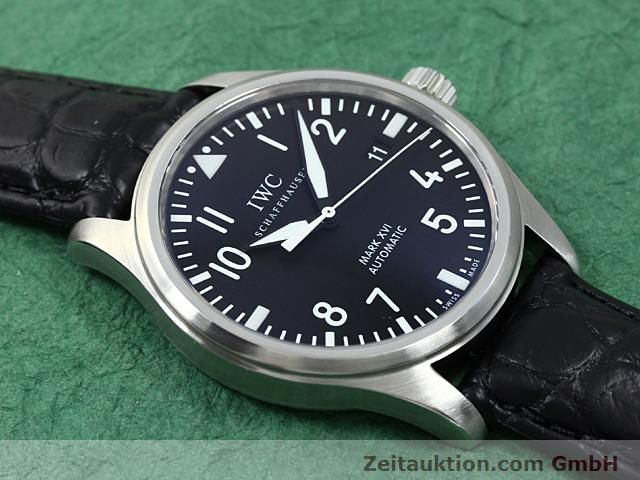 Used luxury watch IWC Mark XVI steel automatic Kal. C.30110 Ref. 3255  | 140496 13