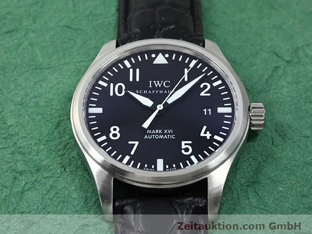 Used luxury watch IWC Mark XVI steel automatic Kal. C.30110 Ref. 3255  | 140496 14