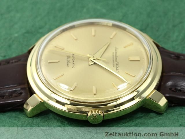 Used luxury watch IWC De Luxe 18 ct gold automatic Kal. C.853  | 140497 05