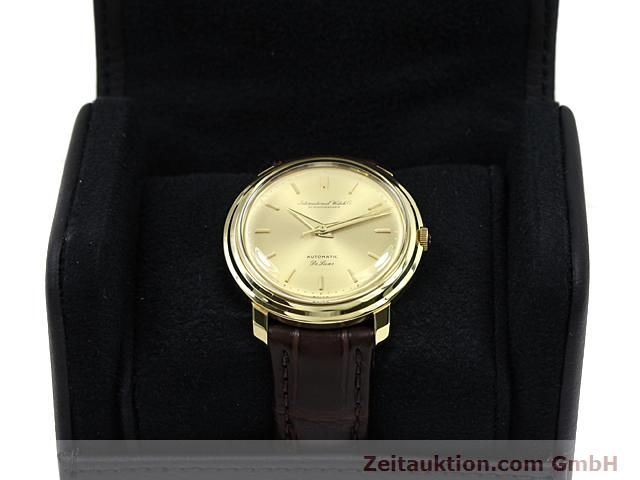Used luxury watch IWC De Luxe 18 ct gold automatic Kal. C.853  | 140497 07