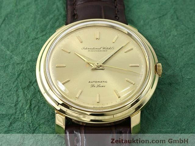 Used luxury watch IWC De Luxe 18 ct gold automatic Kal. C.853  | 140497 13