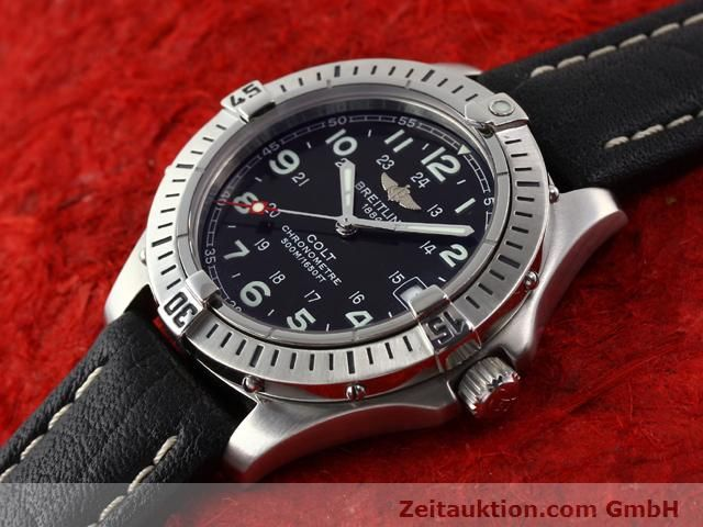 Used luxury watch Breitling Colt steel quartz Kal. B74 Ref. A74350  | 140498 01