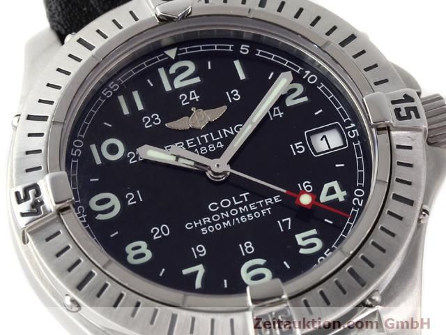 Used luxury watch Breitling Colt steel quartz Kal. B74 Ref. A74350  | 140498 02