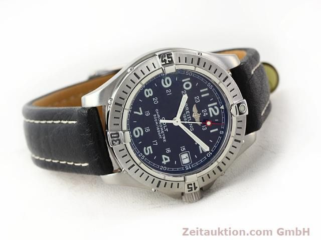 Used luxury watch Breitling Colt steel quartz Kal. B74 Ref. A74350  | 140498 03