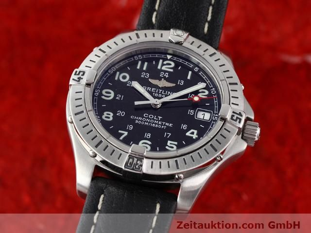 Used luxury watch Breitling Colt steel quartz Kal. B74 Ref. A74350  | 140498 04
