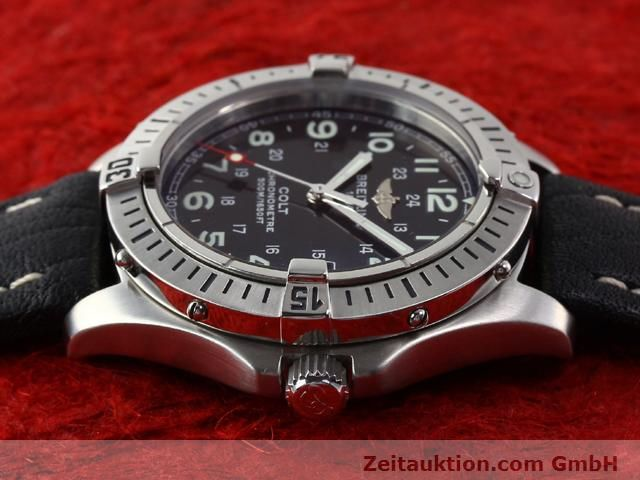Used luxury watch Breitling Colt steel quartz Kal. B74 Ref. A74350  | 140498 05