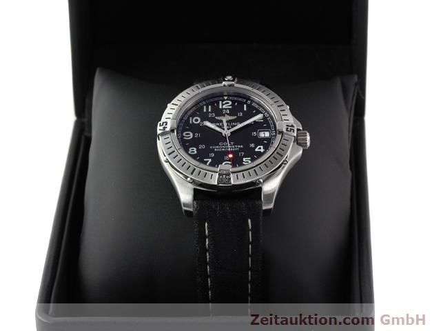 Used luxury watch Breitling Colt steel quartz Kal. B74 Ref. A74350  | 140498 07