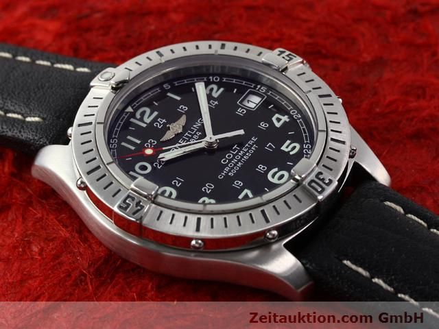 Used luxury watch Breitling Colt steel quartz Kal. B74 Ref. A74350  | 140498 12